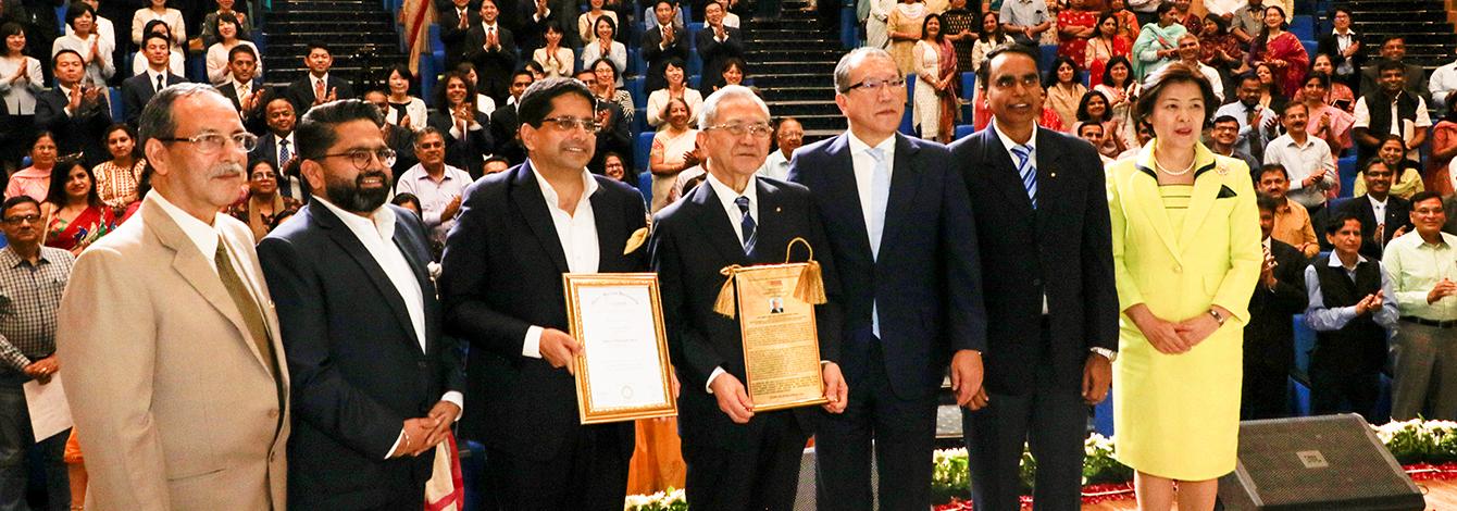 Manav Rachna University Confers Honoris Causa on SGI President Daisaku Ikeda
