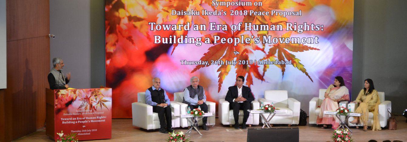 peace proposal 2018 ahmedabad